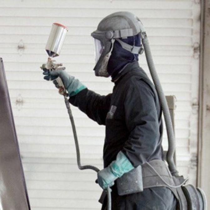 La pintura también puede proteger contra el fuego