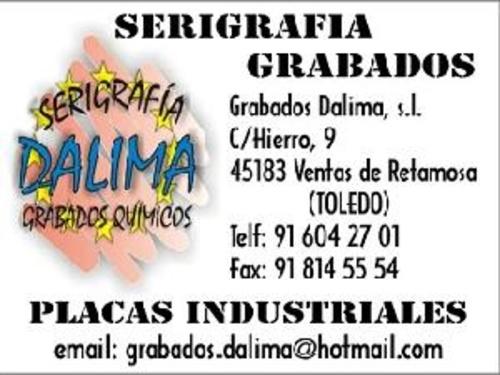 Videos de Grabados en Las Ventas de Retamosa | Grabados Dalima, S.L.