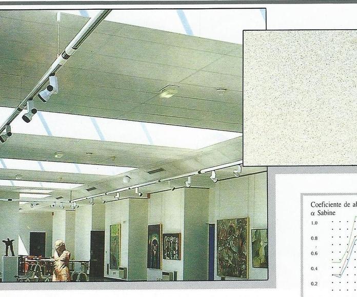 Panel rígido Tonga blanco
