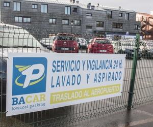 Parking con servicio de taller en el aeropuerto de Santiago de Compostela