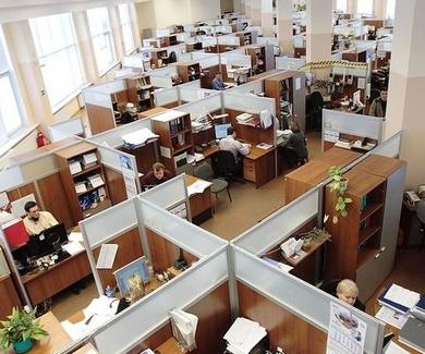 La cifra de accidentes dentro de la oficina supera los 43.000 al año en España