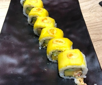 Arroz: Carta de Sushi Time Buffet Libre