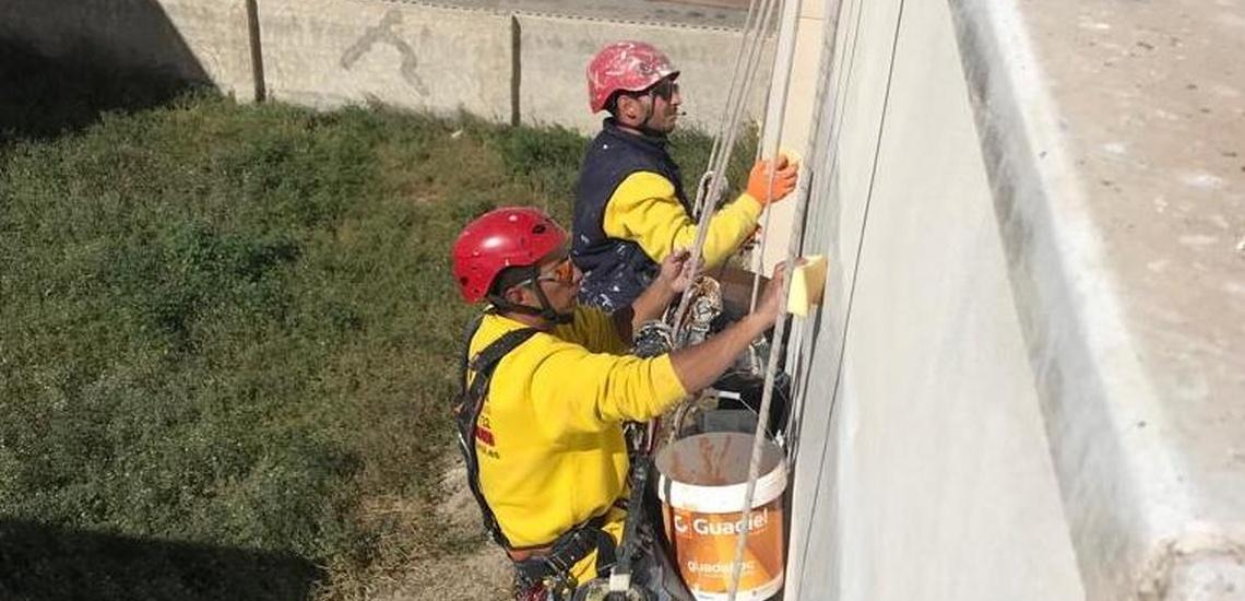 Trabajos verticales y Trabajos de altura en Murcia