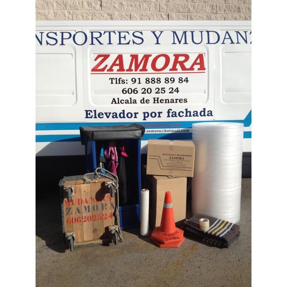 Otros servicios: Servicios de Mudanzas Zamora