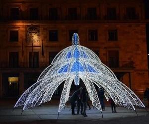 Iluminación para fiestas en Lugo