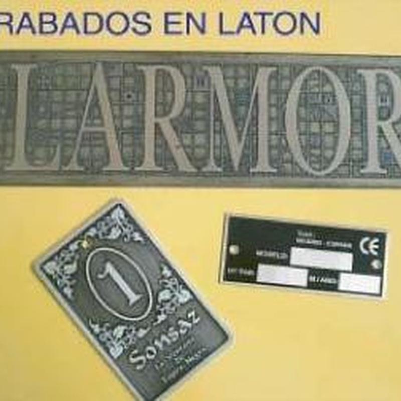 Latón: Catálogo de Grabados Dalima, S.L.