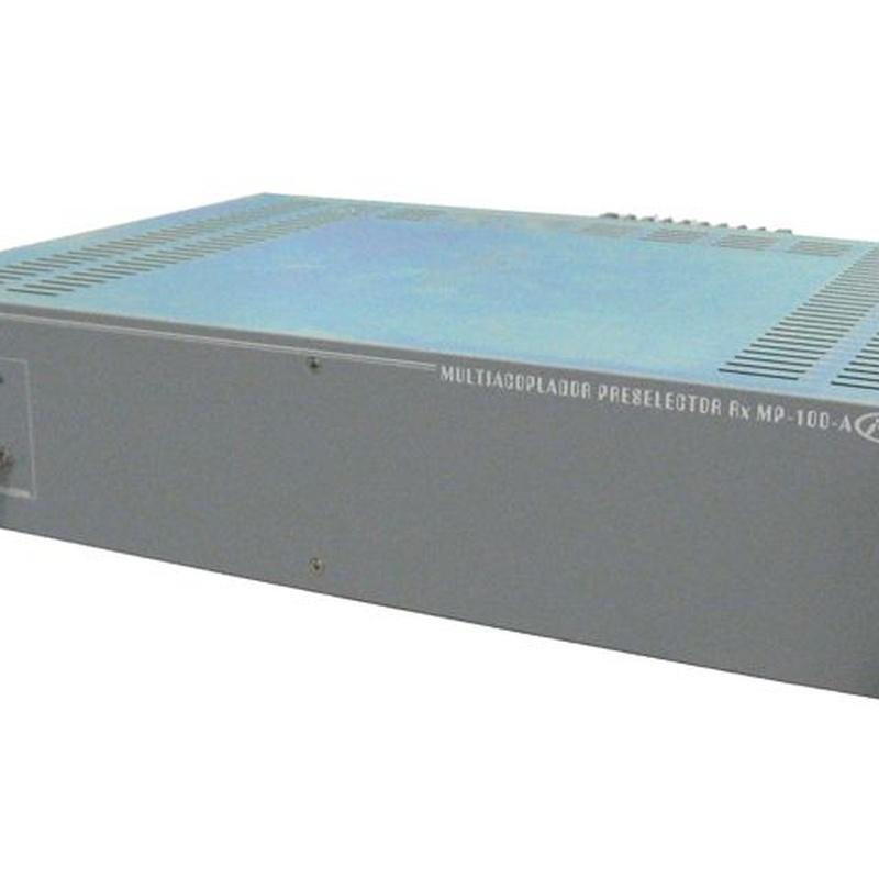 Multiacoplador de Pre-Selector RX-VHF: Productos de Invelco