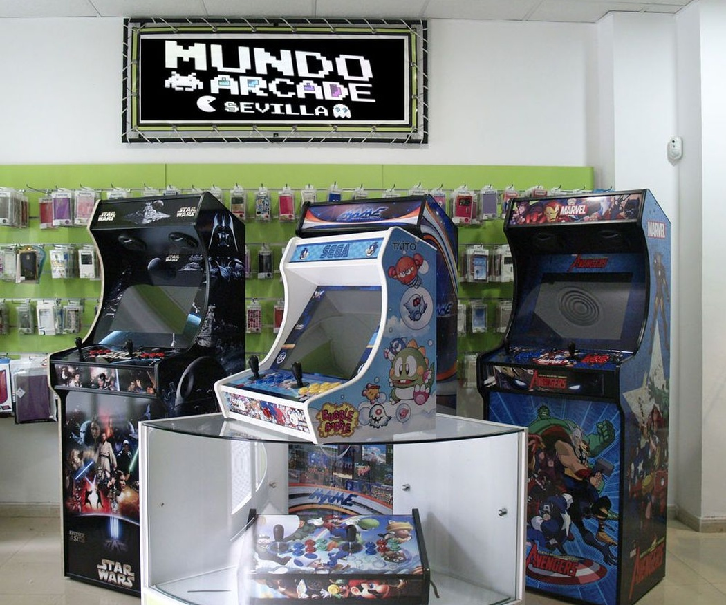 Qué son las arcade bartop