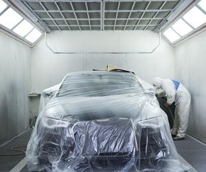 Taller de pintura de coches