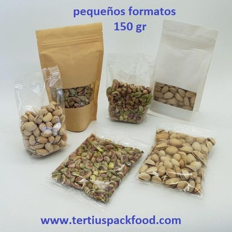 Tipos de envasado en formato pequeño