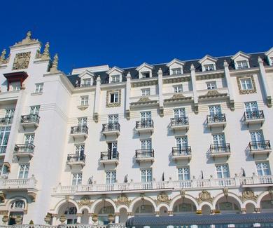 HOTEL REAL SANTANDER restauración de fachadas.