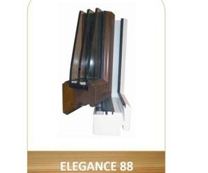 Ventana aislante en madera Elegance 88