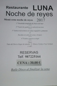 NOCHE VISPERA DE REYES