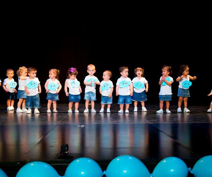 Escuela infantil pequeñajos, fiesta fin de curso; escuela infantil valdemoro