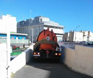 Limpieza de alta presión en Tenerife