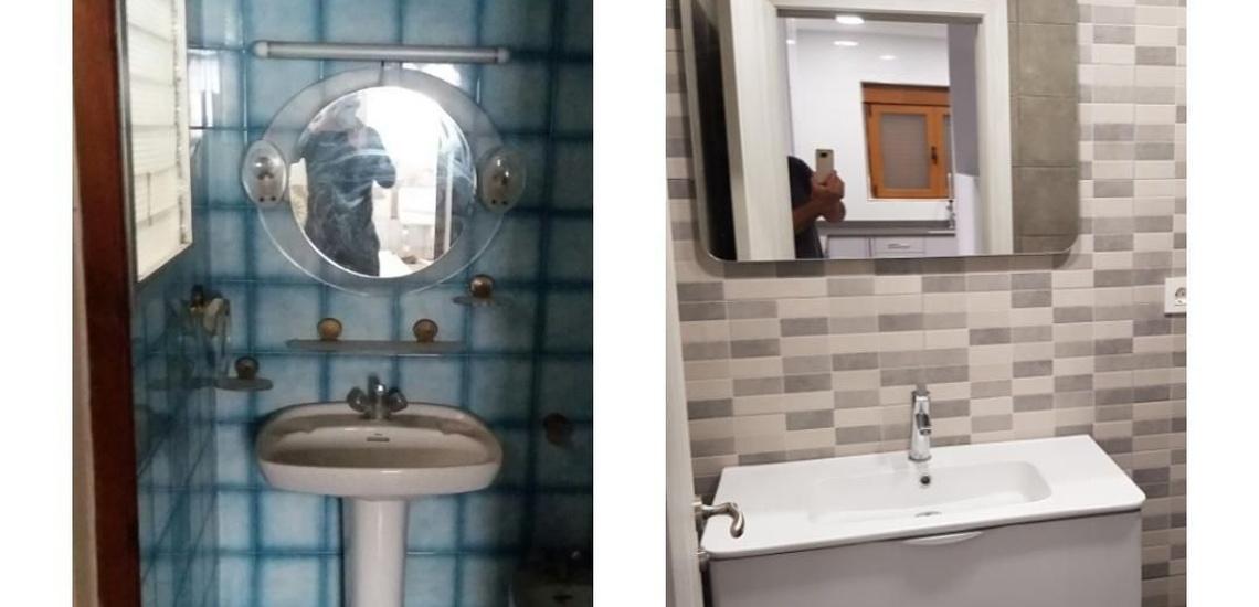 Reformas integrales de pisos en Valencia para acondicionar baños