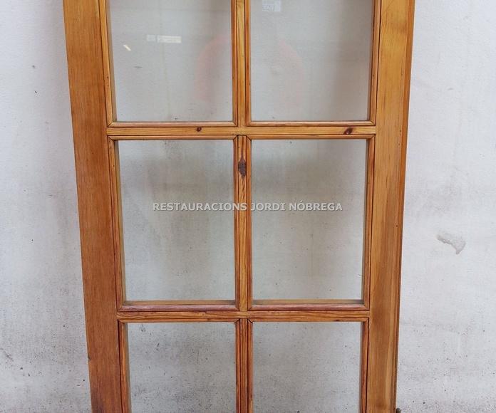 Restauración ventanas en el Maresme. Restauracions Jordi Nóbrega