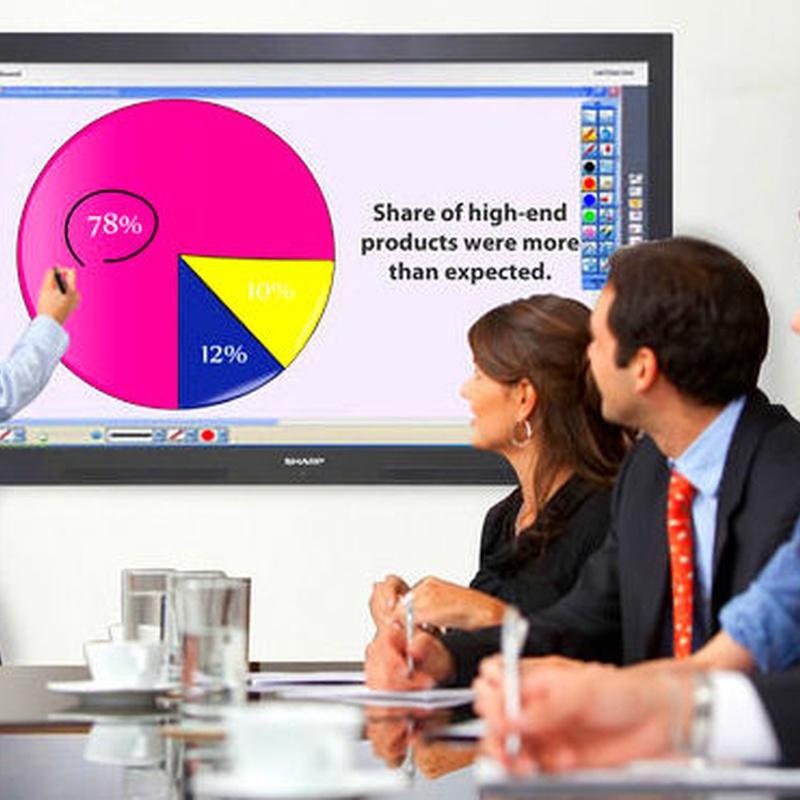 Monitor interactivo