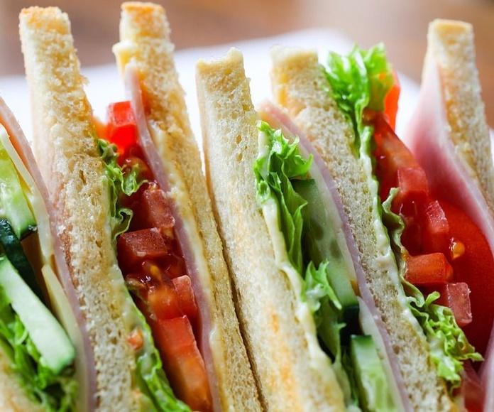 Hamburguesas y sándwiches: Carta y servicios de El Pisco