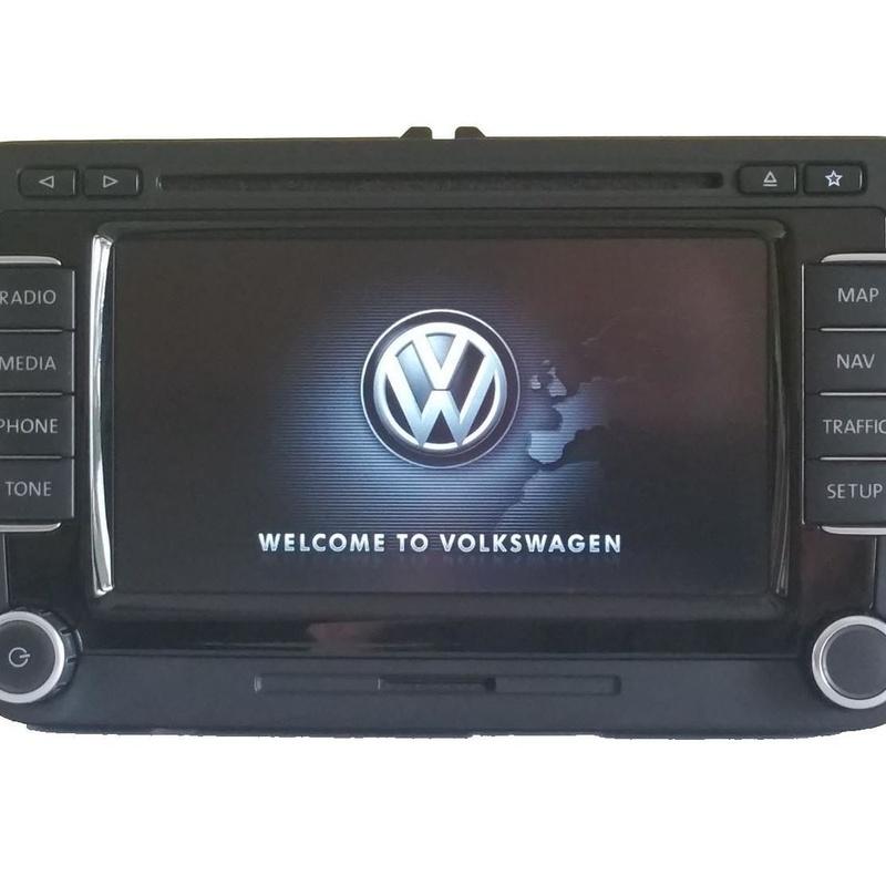 Radio navegador original Volkswagen RNS-510 Skoda Columbus Seat Mediasystem Trinax