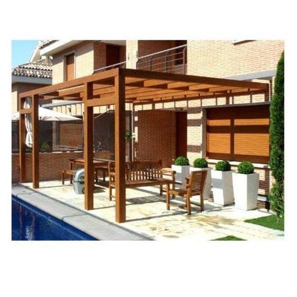 Porches de madera: Casas de madera de 5SCC Casas de Madera