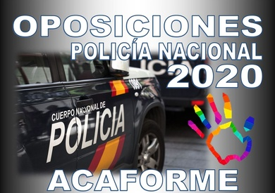OPOSICIONES POLICÍA NACIONAL 2020