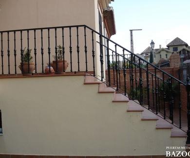 Presupuestos barandillas de escaleras Hijar