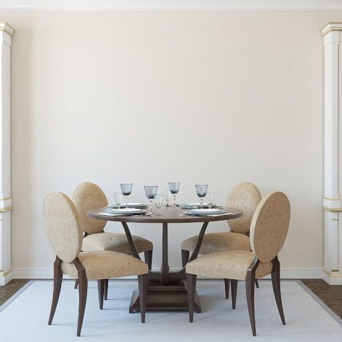 Comodidad y estética al sentarte a la mesa
