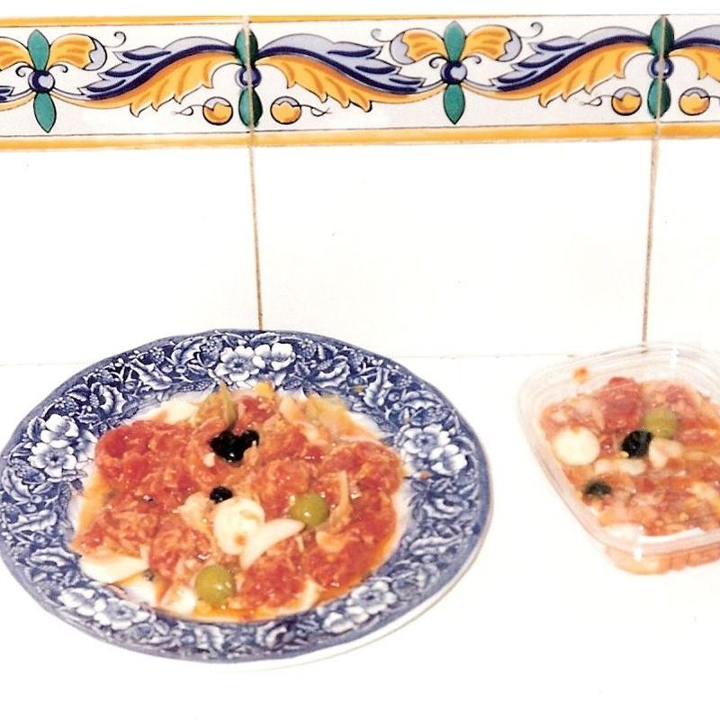 9- Ensalada Murciana(de tomate)| comidas para llevar Murcia| La Olla de Murcia