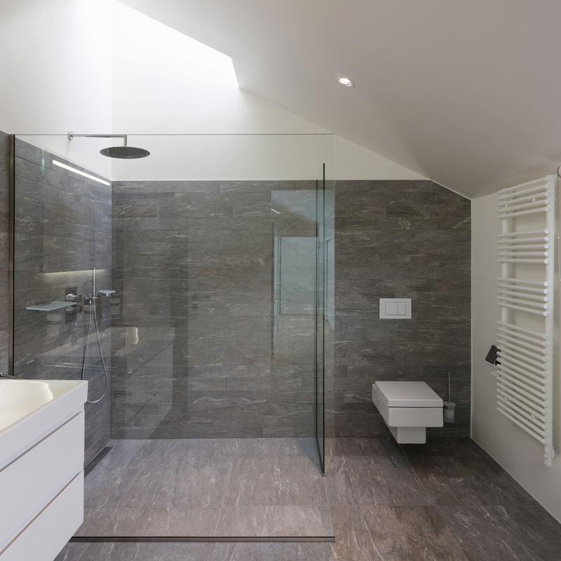 Mamparas de baño: Servicios de Aluminios Sebas