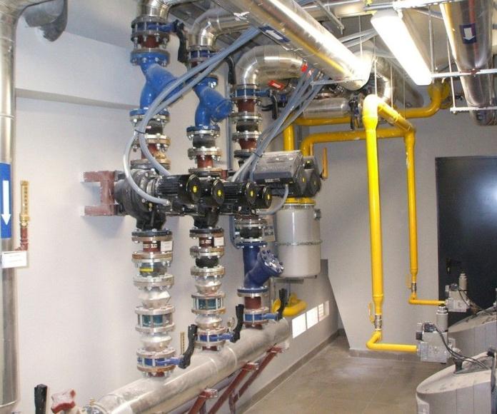 Fontanería, gas y calefacción: Servicios de Arficom