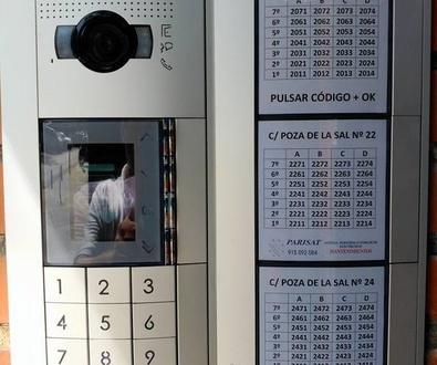 Instalacion videoporteros Carabanchel, Aluche y Usera Madrid