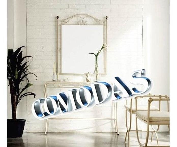COMODAS: Catálogo de muebles de forja de Forja Manuel Jiménez
