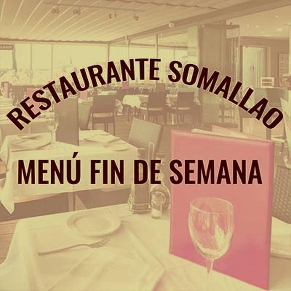 Restaurante Somallao Rivas, Menú Especial Sábado 29 de Agosto de 2020