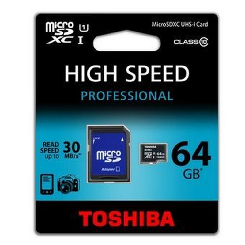 Toshiba Micro SDHC 64GB Clase 10 + Adaptador SD: Catálogo de Retóner Ecológico, S.C.