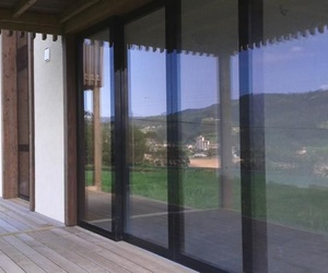 Ventanas de madera + vidrio