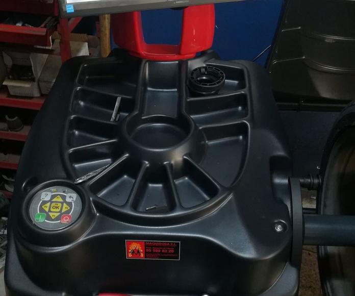 Nueva equilibradora MEC 820 VDL
