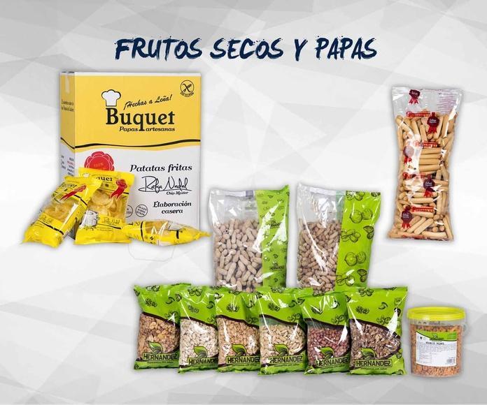 Frutos secos y papas: Productos de Exclusivas San Luis