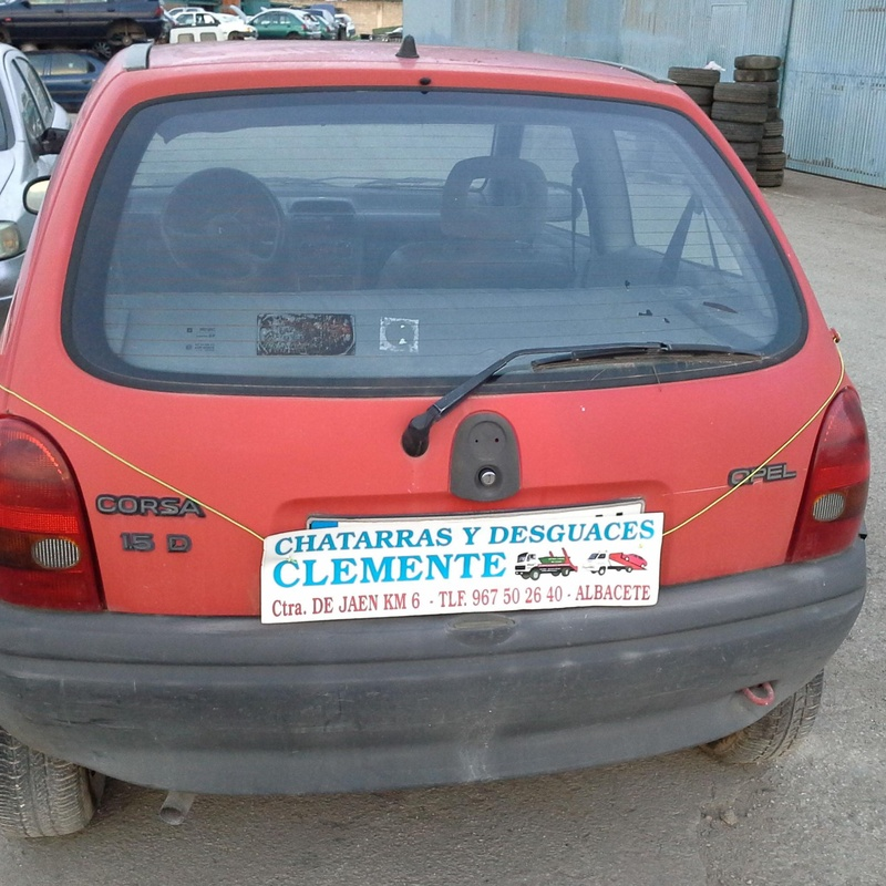 Opel Corsa para desguaces en Albacete en Desguaces Clemente