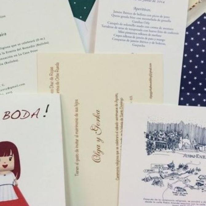 ¿Cuándo enviar las invitaciones de boda?