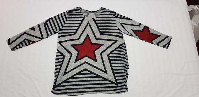 Camiseta rayas y estrella: Productos de Picnic Moda Urban y Pinpilinpauxa