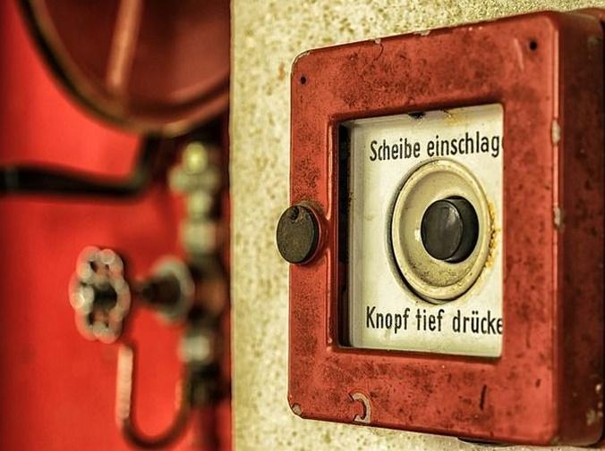 Los tipos de alarmas existentes