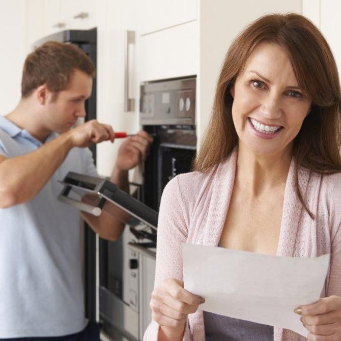 Las averías más frecuentes de los hornos domésticos