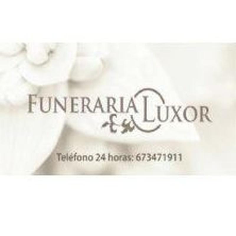Servicios funerarios: Prestaciones de Funeraria Luxor