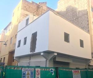 Nueva obra y demolición en Los Cristianos