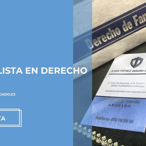 Abogados derecho civil en Fuengirola | Juan Pérez Estudio Jurídico