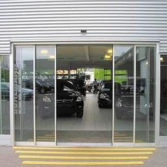 Puertas Peatones Rápidas de Cristal vidrio automáticas en Valencia y provincia
