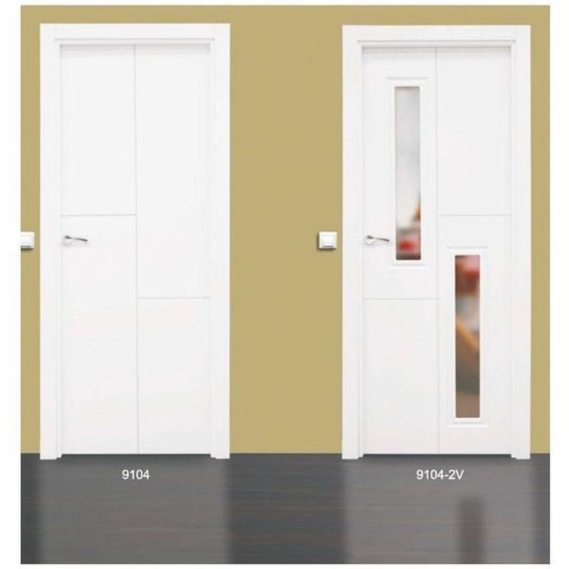 Modelo 9104 Puerta lacada de calidad estándar