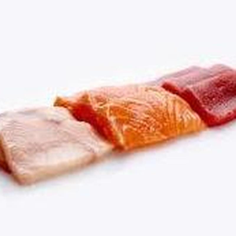 Sashimi variado: Carta de Sushi Time Buffet Libre