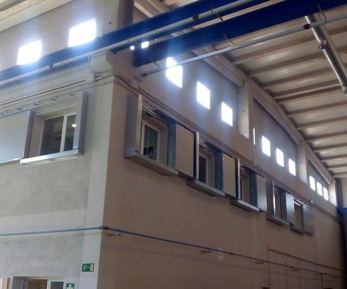 CORREDERAS RF120 1 Y 2 HOJAS TELESCÓPICAS